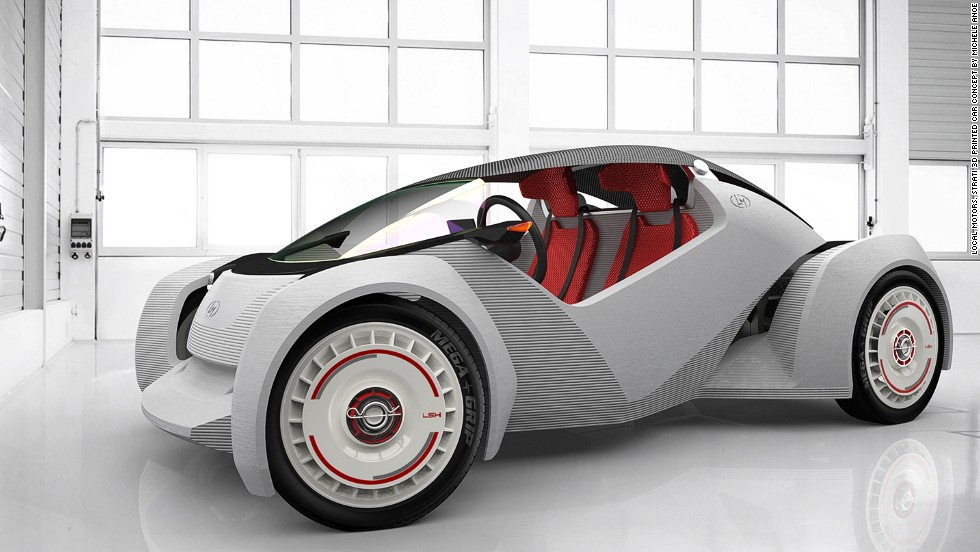 Meet The Strati The World S First Eco Friendly 3d