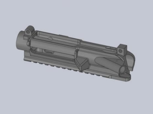 Reverse Engineering Gun Component