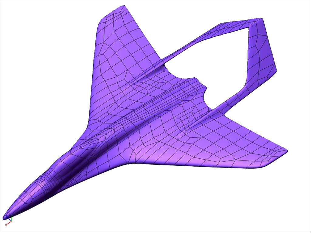 3D CAD has only been used on aircraft since the mid-90's.