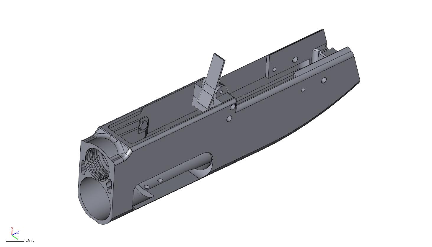 Receiver CAD Model