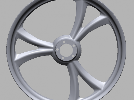 Reverse Engineering a Motorcycle Wheel