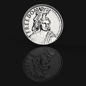 3D Scanning a Silver Coin