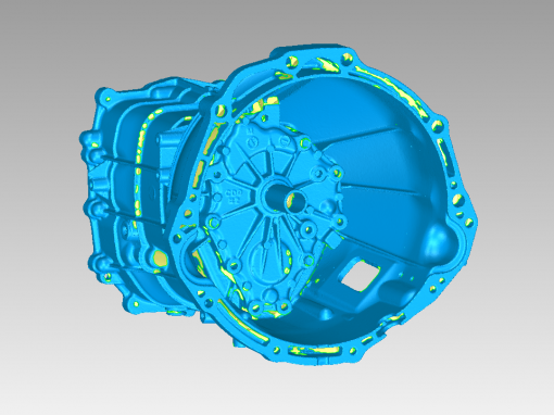 3D Scanning & Reverse Engineering a Transmission Casing